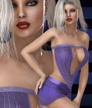 Totally Hot - Reveling Nightclub II 3D Figure Essentials nirvy
