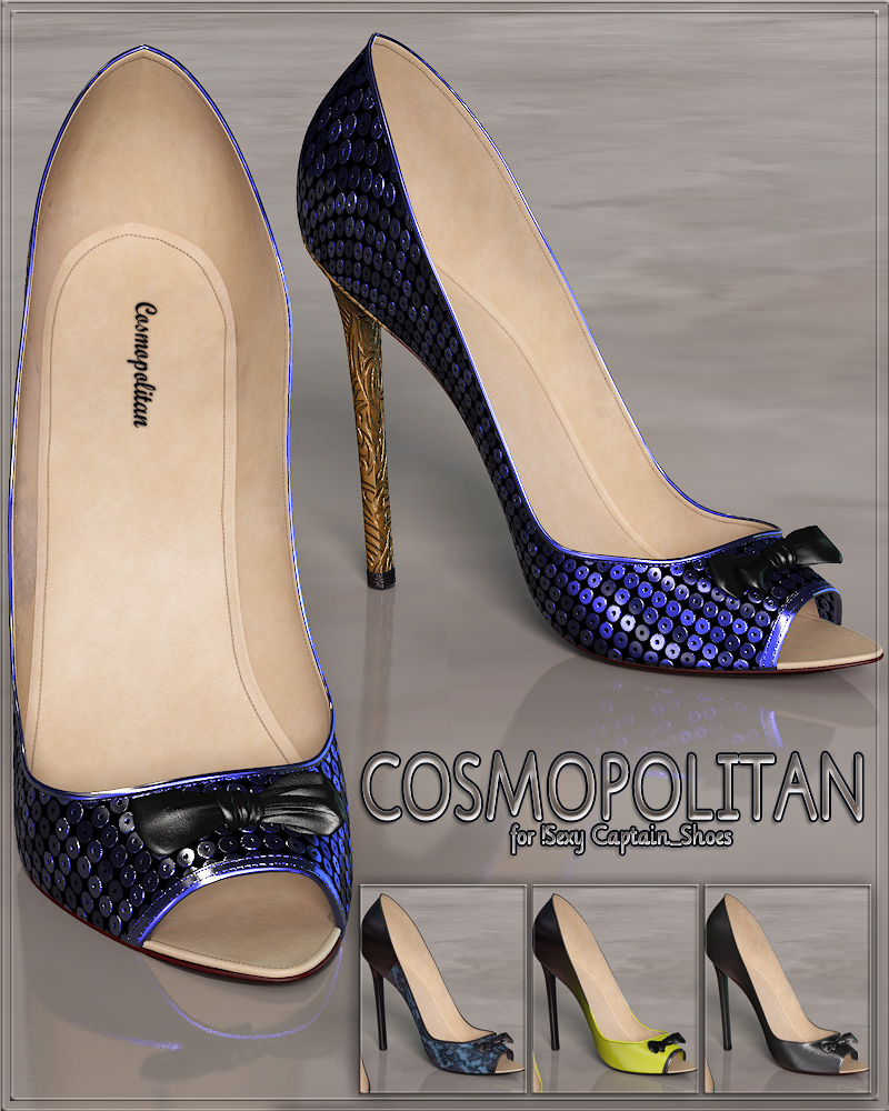 COSMOPOLITAN - !Sexy Captain_Shoes by Anagord