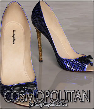 COSMOPOLITAN - !Sexy Captain_Shoes 3D Figure Essentials Anagord
