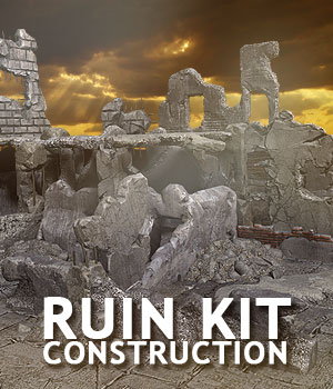 Ruin Construction Kit 3D Models powerage