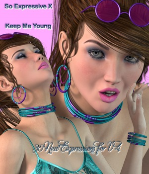 So Expressive X-Keep MeYoung 3D Figure Essentials vanda51