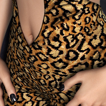 NYC Couture: Spiked Bodysuit for V4A4G4Elite image 3