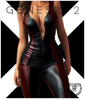 X24: Deeper for Genesis 2 Female(s) 3D Figure Essentials outoftouch