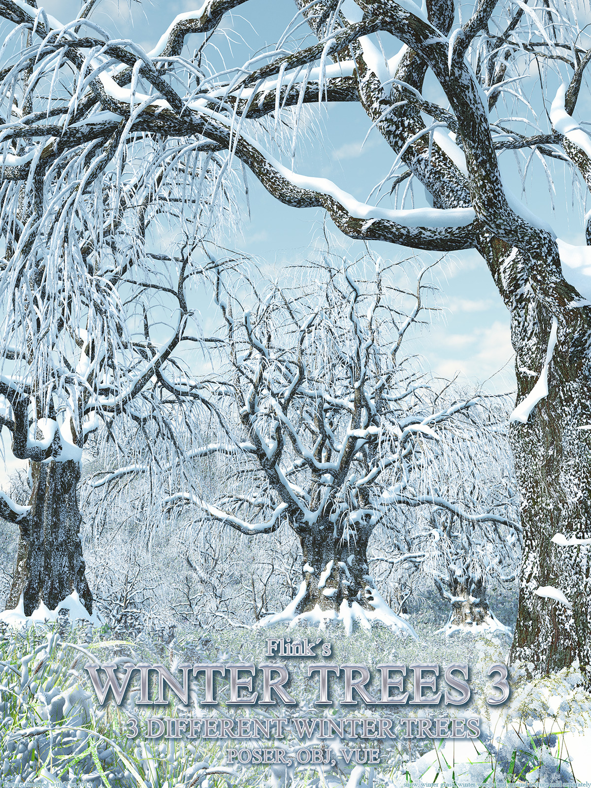 Flinks Winter Trees 3 by Flink