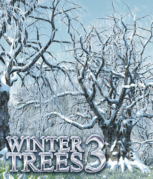 Flinks Winter Trees 3 3D Models Flink