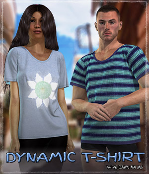 Dynamic Tshirt 3D Figure Essentials Grappo2000