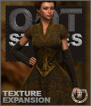 ROYAL STYLES for A Fine Regal Attire for Genesis 2 Female(s) 3D Figure Assets outoftouch