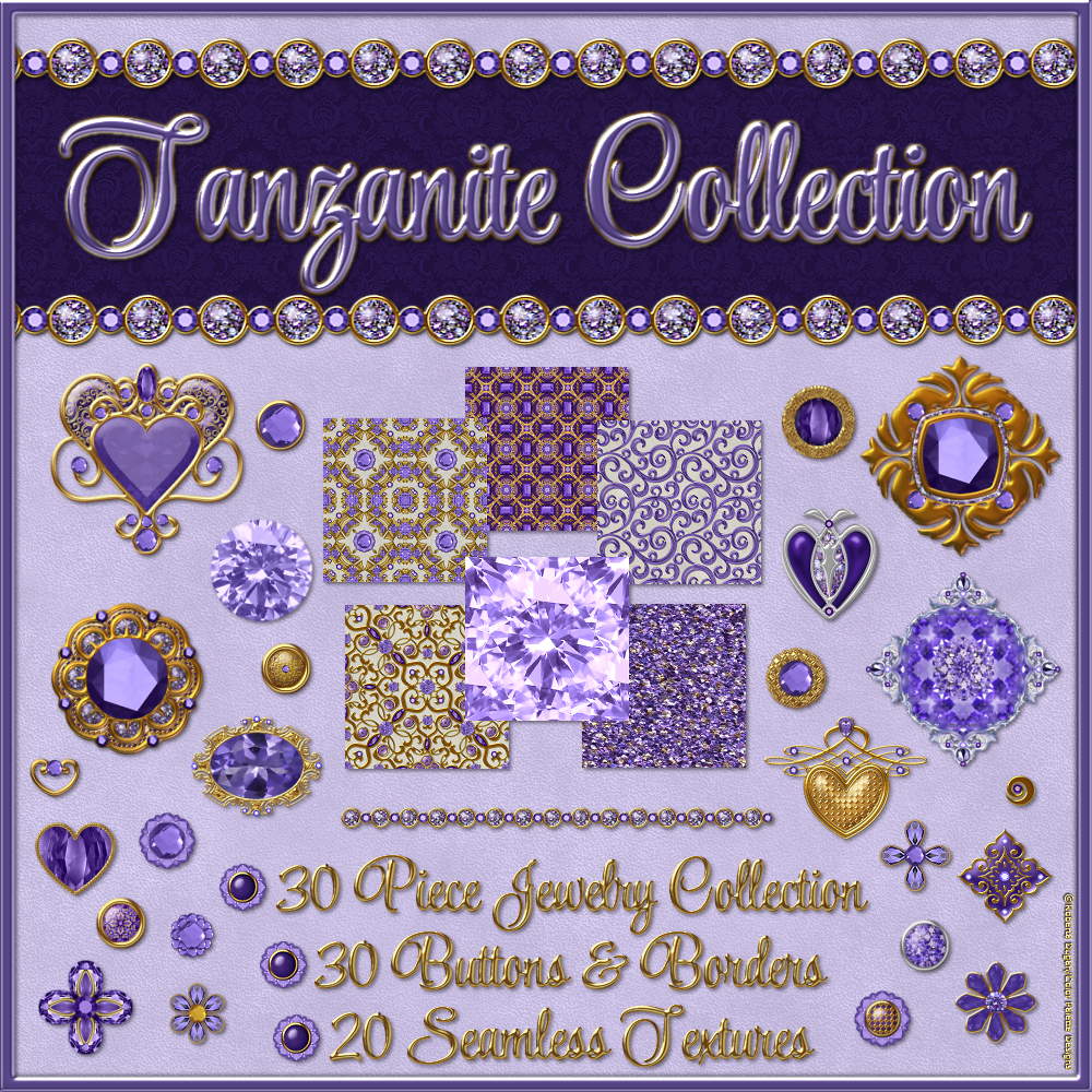 The Tanzanite Collection by fractalartist01