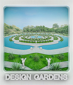 Design Gardens 3D Models whitemagus