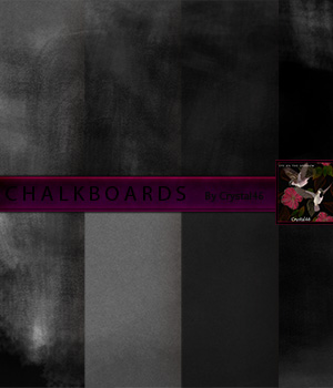 Chalkboards Textures:  A Merchant Resource 2D Graphics Crystal46