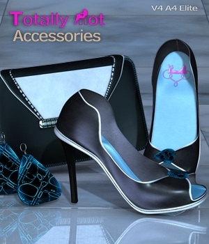 Totally Hot Accessories 3D Figure Assets nirvy