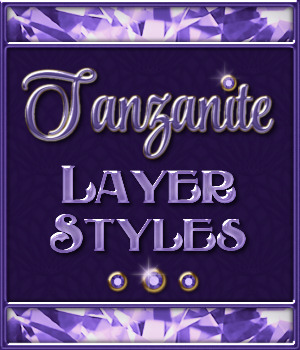 Tanzanite Layer Styles 2D Merchant Resources fractalartist01