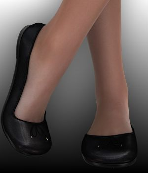 Classic Ballet Flats for Genesis 2 Females 3D Figure Essentials WildDesigns