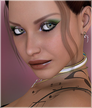 Harmony: Character and Jewelry Set 3D Figure Essentials Belladzines