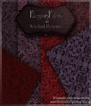 Merchant Resource - Elegant Fabric 2 2D Graphics Merchant Resources antje