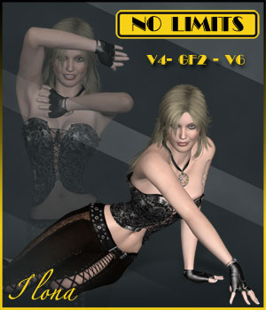 No Limits - V4 - GF2 - V6 3D Figure Essentials ilona