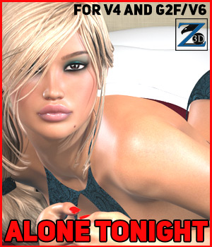 Z Alone Tonight - V4-G2F/V6 3D Figure Essentials Zeddicuss