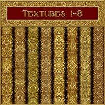 Ornamental Golds Seamless Texture Pack image 1