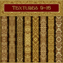 Ornamental Golds Seamless Texture Pack image 2
