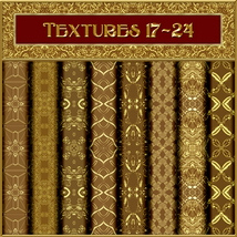 Ornamental Golds Seamless Texture Pack image 3