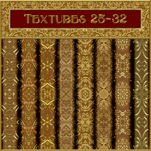 Ornamental Golds Seamless Texture Pack image 4