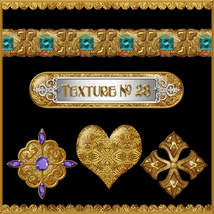 Ornamental Golds Seamless Texture Pack image 5