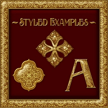 Ornamental Golds Seamless Texture Pack image 7
