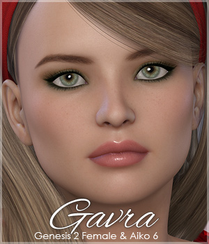 Sabby-Gavra for Genesis 2 Female and A6 3D Figure Essentials Sabby