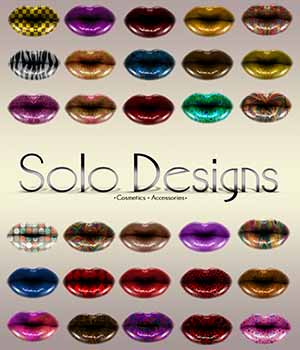 High Gloss Lip Designs 2D Merchant Resources MSolo