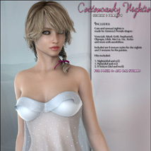 CottonCandy Nightie for G2F image 1