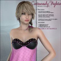CottonCandy Nightie for G2F image 3