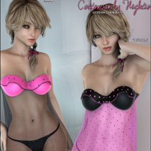 CottonCandy Nightie for G2F image 6