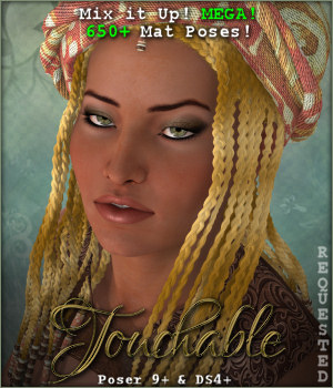 Touchable Vidal Braids 3D Figure Assets -Wolfie-