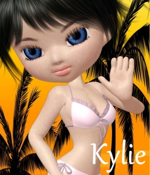 Kylie for Cookie 3D Figure Essentials ANG3L_R3D