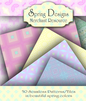 Merchant Resource - Spring Designs 2D Graphics Merchant Resources antje