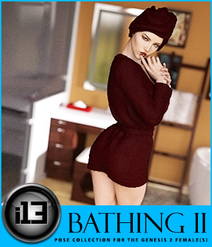 i13 BATHING II 3D Figure Assets ironman13