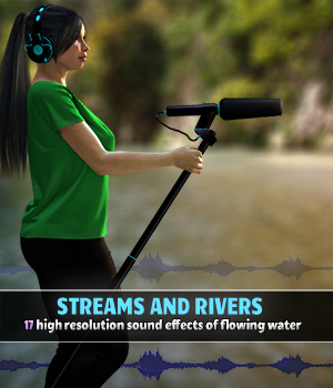 Streams and Rivers Merchant Resources Music  : Soundtracks : FX ShaaraMuse3D