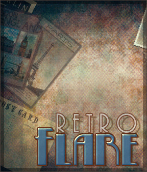 Retro Flare Papers 2D Graphics Sveva
