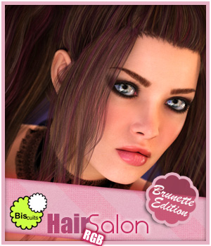 Biscuits RGB Brunette for Hair Salon by Biscuits