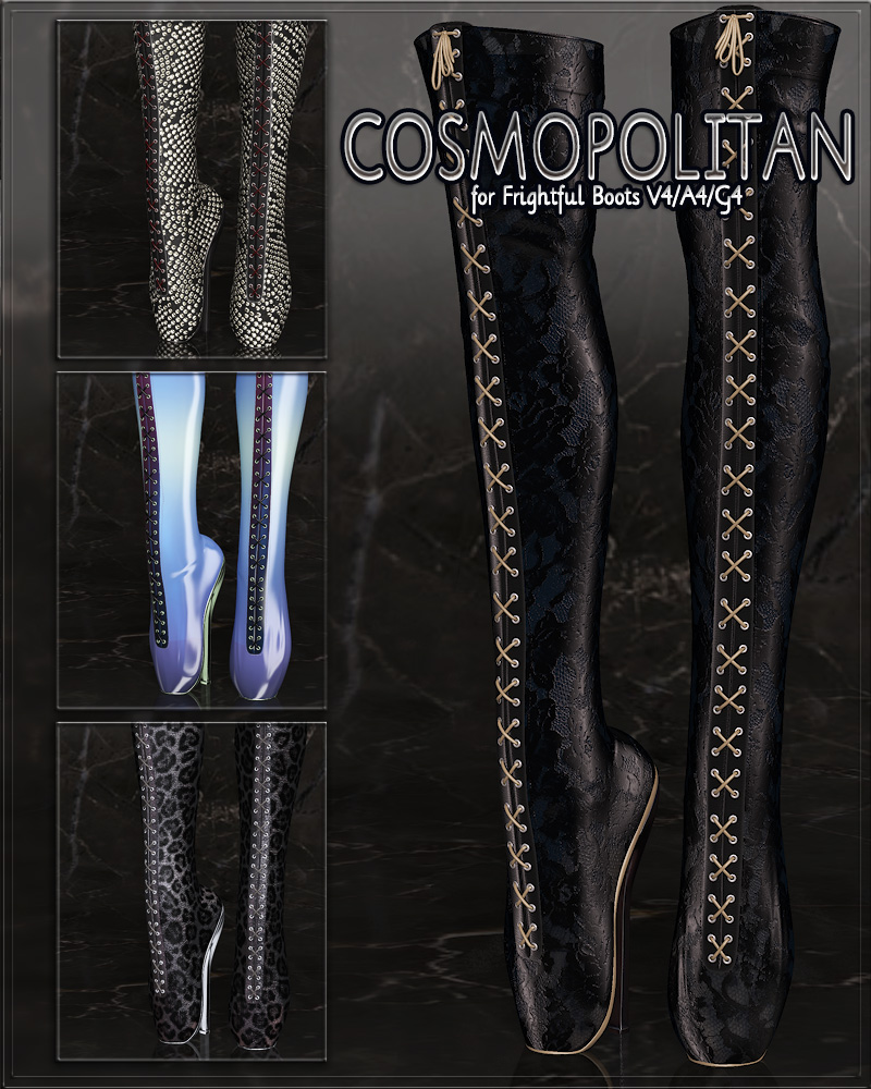 COSMOPOLITAN - Frightful Boots V4/A4/G4 by Anagord