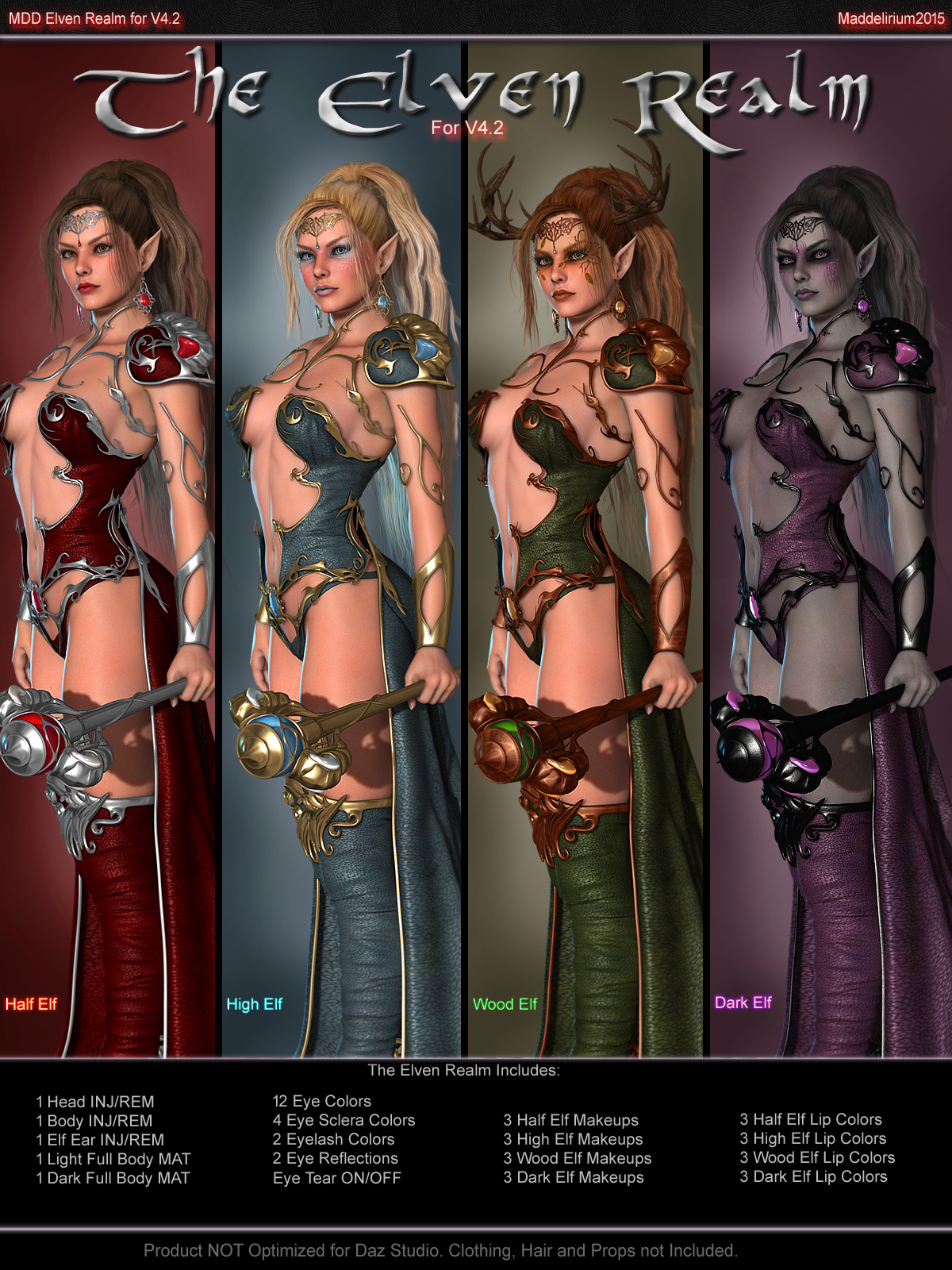 MDD The Elven Realm for V4.2byMaddelirium()