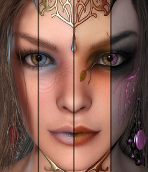 MDD The Elven Realm for V4.2 3D Figure Essentials Maddelirium