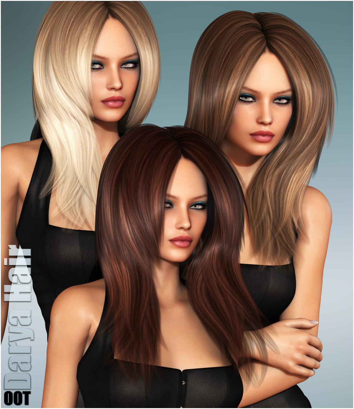 Darya Hair and OOT Hairblending by outoftouch