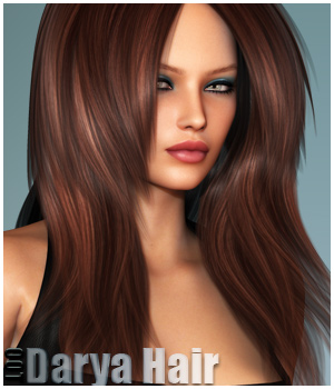 Darya Hair and OOT Hairblending 3D Figure Assets outoftouch
