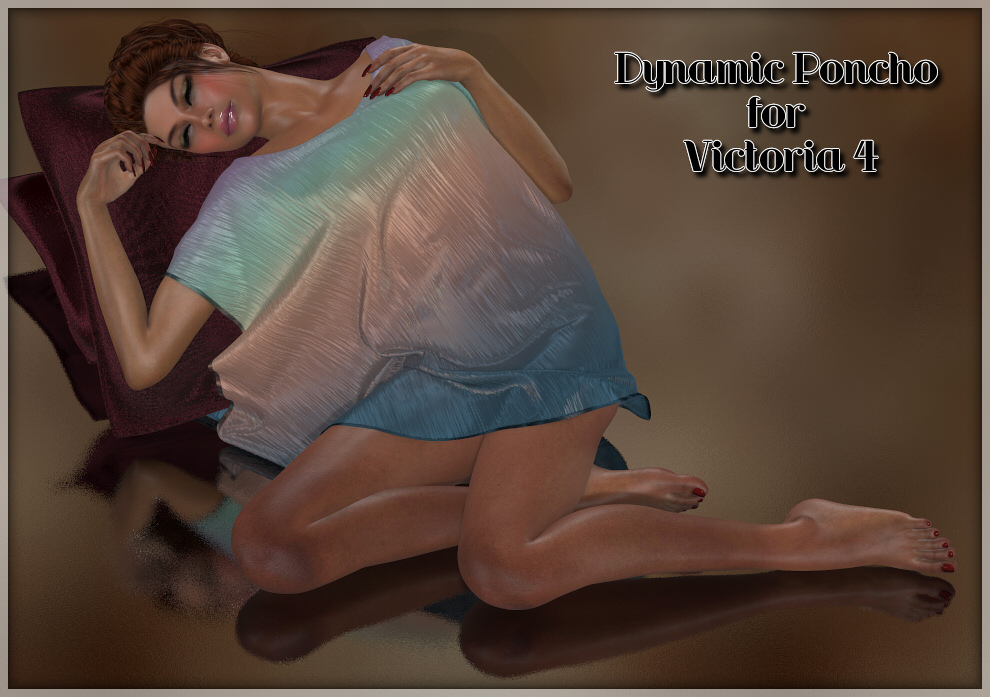 Dynamics 02 - Poncho for Victoria 4 by Lully