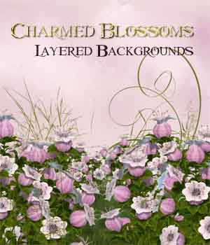 Charmed Blossoms 2D Graphics ellearden