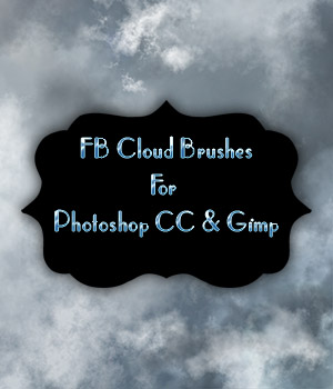 FB Cloud Brushes 2D Graphics Merchant Resources fictionalbookshelf