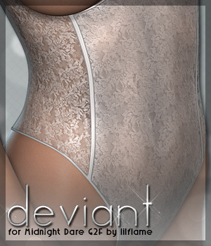 Deviant for Midnight Dare 3D Figure Essentials Sveva