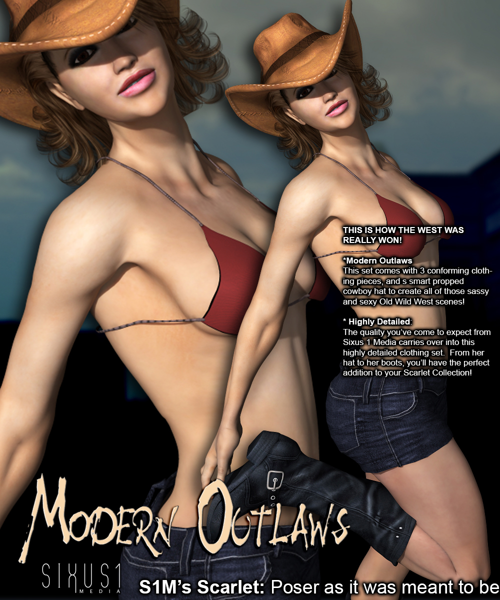 S1M Scarlet: Modern Outlaws 1bysixus1(), RenderFX()