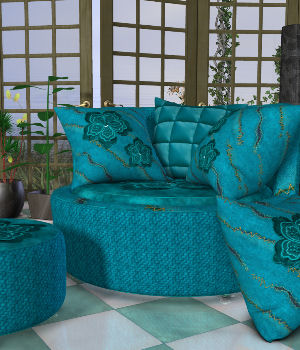 DA-Little Romance 2 for The Cuddler Chair Set by Lully 3D Figure Essentials DarkAngelGrafics